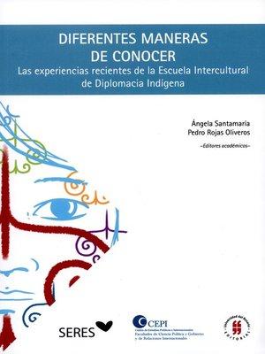 cover image of Diferentes maneras de conocer