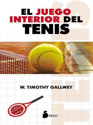 cover image of El juego interior del tenis