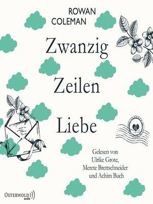 cover image of Zwanzig Zeilen Liebe