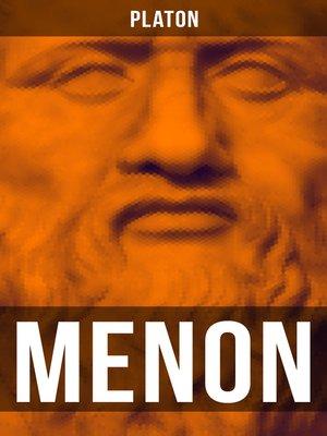 cover image of MENON