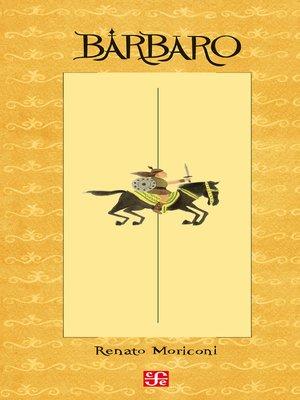 cover image of Bárbaro