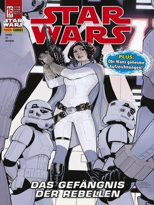 cover image of Star Wars, Comicmagazin 16--Das Gefängnis der Rebellen