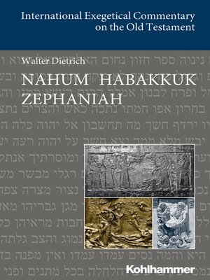 cover image of Nahum Habakkuk Zephaniah