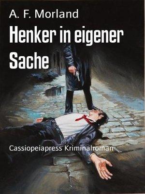 cover image of Henker in eigener Sache