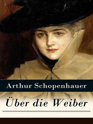 cover image of Über die Weiber
