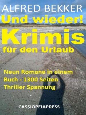 cover image of Und wieder! Krimis für den Urlaub