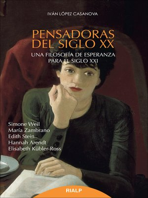 cover image of Pensadoras del siglo XX