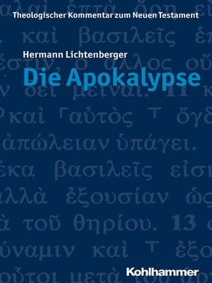 cover image of Die Apokalypse