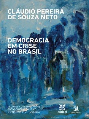 cover image of Democracia em crise no Brasil