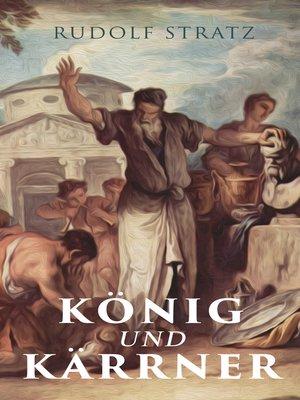 cover image of König und Kärrner