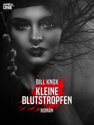 cover image of KLEINE BLUTSTROPFEN