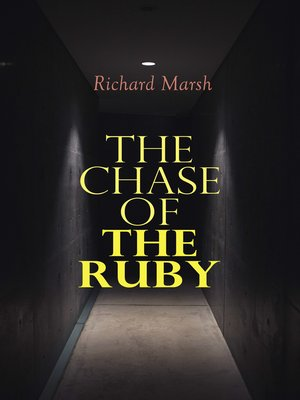 cover image of The Chase of the Ruby