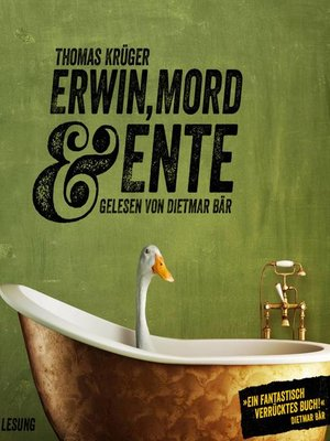 cover image of Erwin, Mord & Ente