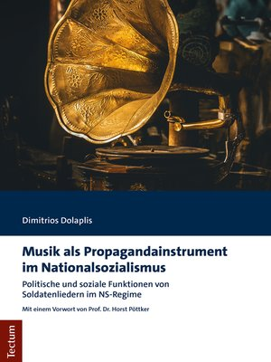 cover image of Musik als Propagandainstrument im Nationalsozialismus