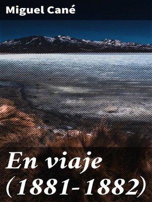 cover image of En viaje (1881-1882)
