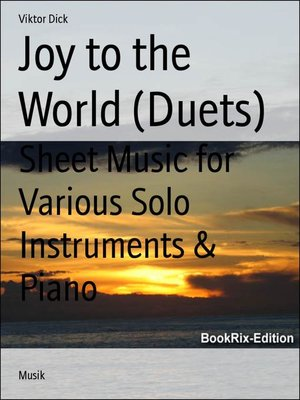 cover image of Joy to the World (Duets)