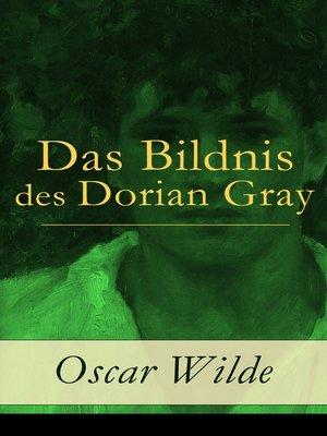 cover image of Das Bildnis des Dorian Gray