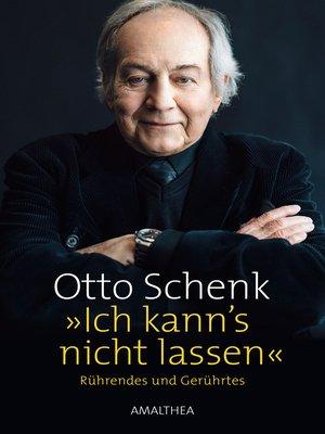 cover image of »Ich kann's nicht lassen«