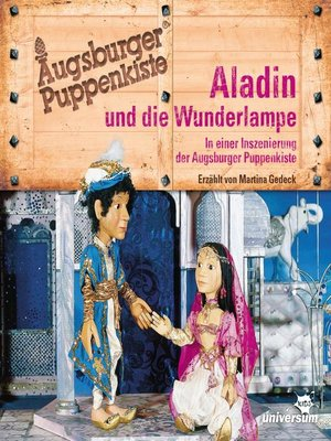 cover image of Augsburger Puppenkiste--Aladin