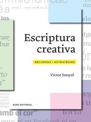 cover image of Escriptura creativa