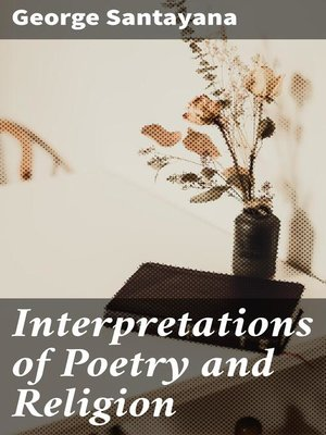 cover image of Interpretations of Poetry and Religion