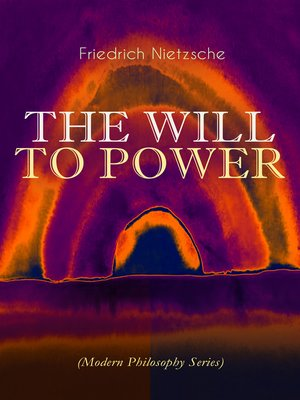 cover image of THE WILL TO POWER (Modern Philosophy Series)