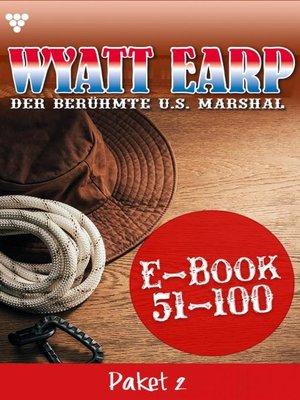 cover image of Wyatt Earp Paket 2 – Western