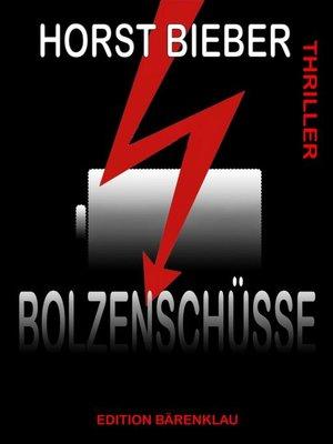 cover image of Bolzenschüsse