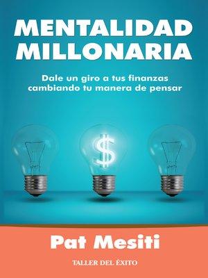 cover image of Mentalidad millonaria