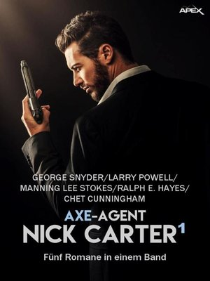 cover image of AXE-AGENT NICK CARTER, BAND 1