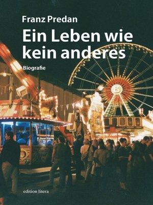 cover image of Ein Leben wie kein anderes