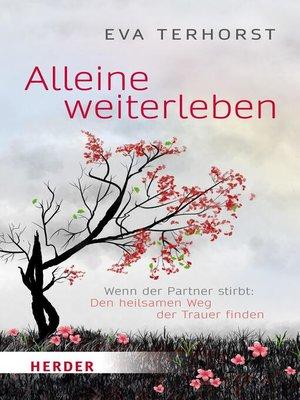 cover image of Alleine weiterleben