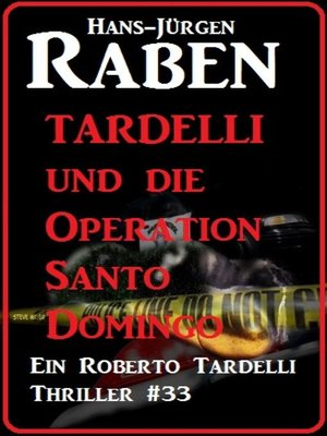 cover image of Tardelli und die Operation Santo Domingo