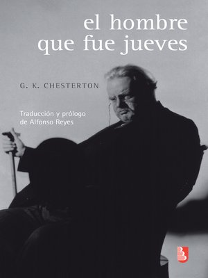 cover image of El hombre que fue jueves