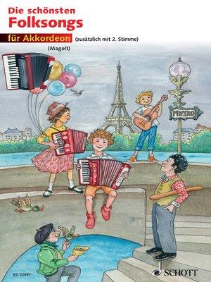 cover image of Die schönsten Folksongs