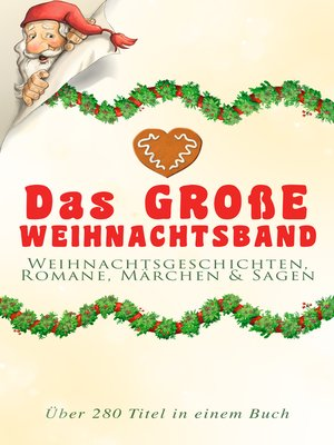 cover image of Das große Weihnachtsband