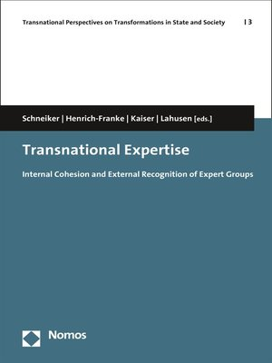 cover image of Transnational Expertise