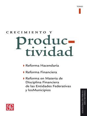 cover image of Crecimiento y productividad, I