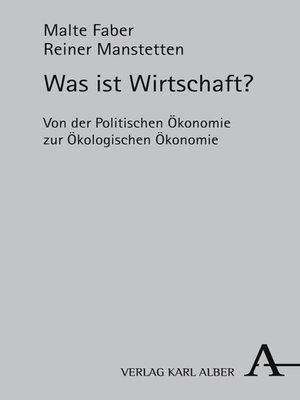 cover image of Was ist Wirtschaft?