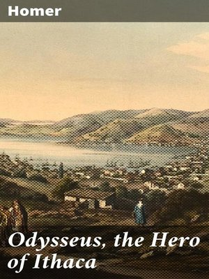 cover image of Odysseus, the Hero of Ithaca