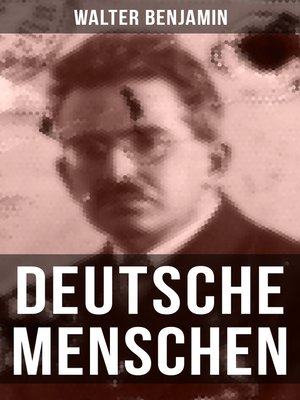 cover image of Walter Benjamin