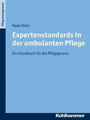 cover image of Expertenstandards in der ambulanten Pflege