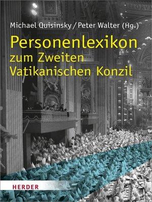 cover image of Personenlexikon zum Zweiten Vatikanischen Konzil