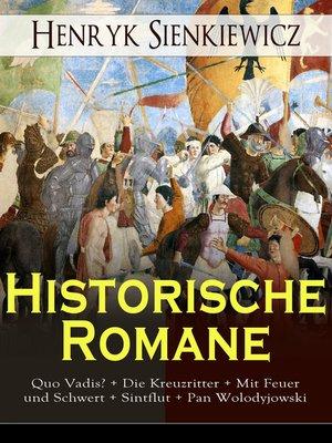cover image of Historische Romane