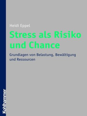 cover image of Stress als Risiko und Chance