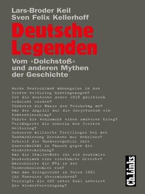 cover image of Deutsche Legenden