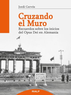 cover image of Cruzando el muro