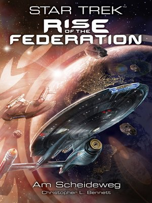 cover image of Star Trek--Rise of the Federation 1
