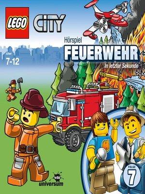 cover image of Folge 7--Feuerwehr--In letzter Sekunde