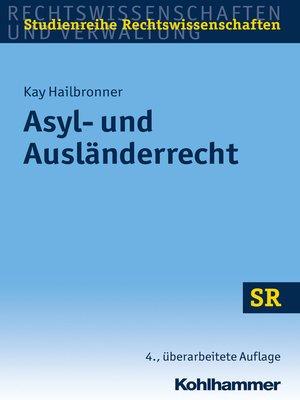 cover image of Asyl- und Ausländerrecht